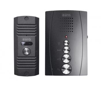 DOMOFON ''EURA'' ADP-12A3 ''INVITO'' głośnomówiący, b/słuchawkowy