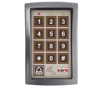 ZAMEK SZYFROWY ''EURA'' AC-13A1 trzy wyjścia, funkcja karty zbliżeniowej, Wiegand
