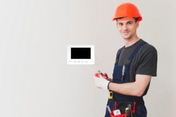 przygotowanie instalacji pod domofon i wideodomofon